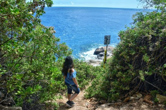 Oahu Itinerary - Spitting Caves