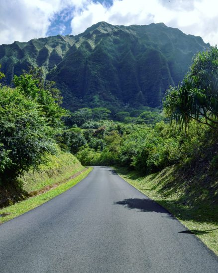 Mountains in Oahu
