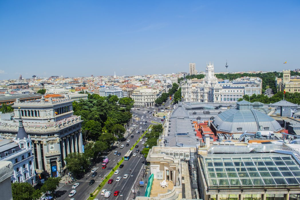 Madrid viewpoint - things to do