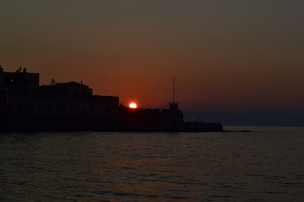 Sunset watching - things to do in Crete
