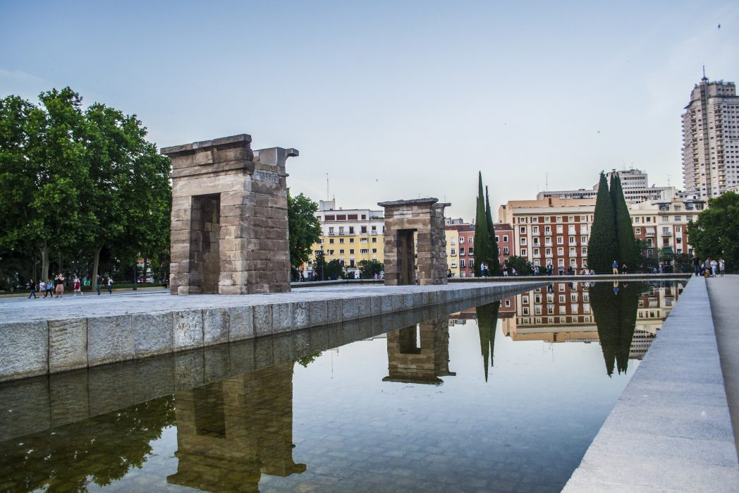 Temple of Debod, among the best things to do in Spain