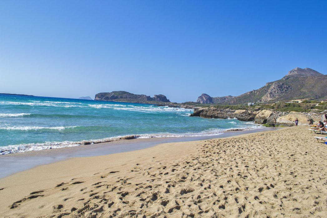 Falasarna - one of the best places to visit in Crete