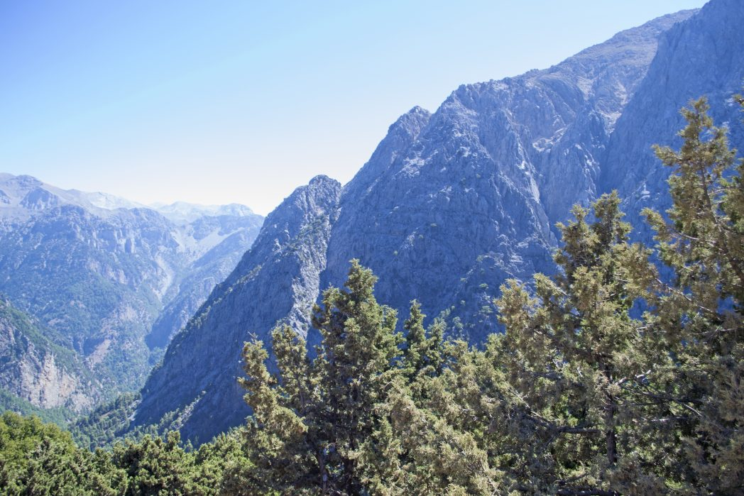 Omalos - best views in Crete
