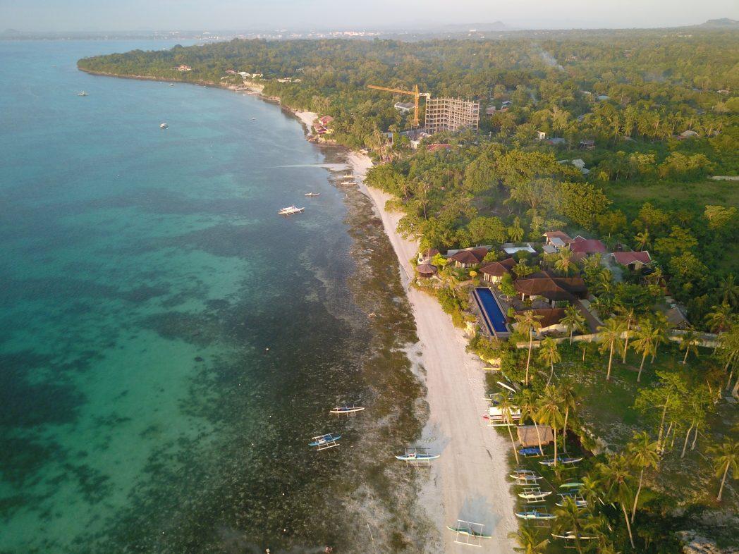 Beautiful beach in Panglao island